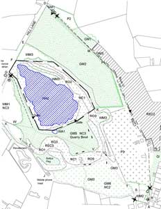 Hill Hole Quarry Plan